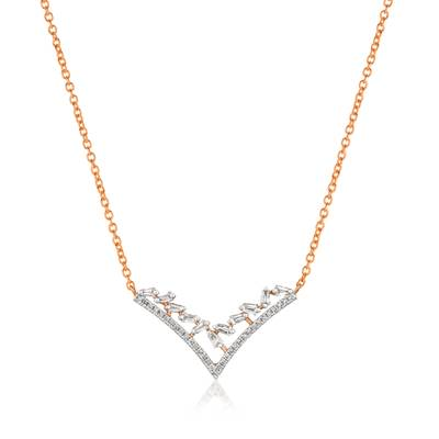 14K Strawberry Gold® Necklace | ABTC 18