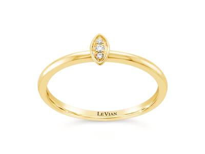 14K Honey Gold™ Ring with Vanilla Diamonds®  cts. | ASND 129