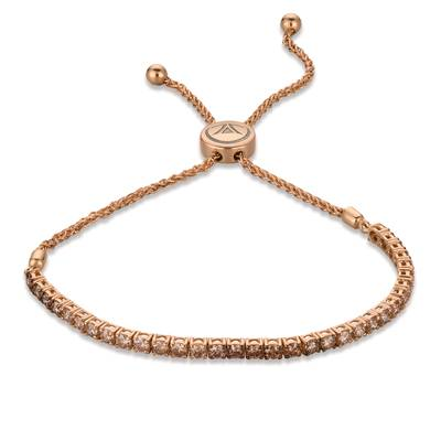 14K Strawberry Gold® Bolo Bracelet | DEKI 159