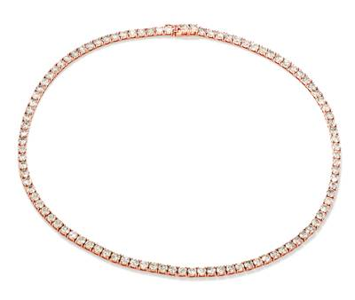 14K Strawberry Gold® Necklace with Nude Diamonds™ 26 1/4 cts. | DEKI 1744