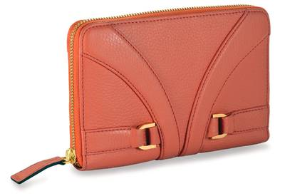 Gladiator WalletÖ - Coral Pebbled LeatherÖ | LBGLA1023CRL