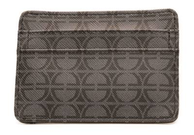 Le Vian Men's Collection - Grey/Black Card Holder | LMCLA0039GRY