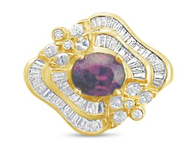 18K Honey Gold™ Passion Ruby™ 2 cts. Ring | NCN 29