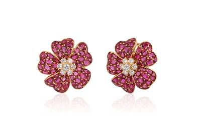 18K Passion Ruby™ 39.000 cts. Earrings | OY 11
