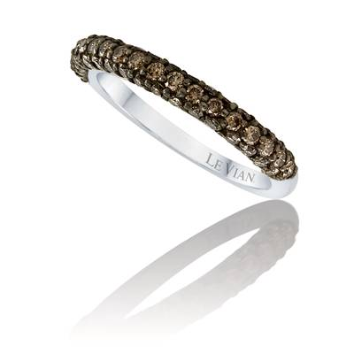 14K Vanilla Gold® Ring with Chocolate Diamonds® 7/8 cts. | PZLY 5