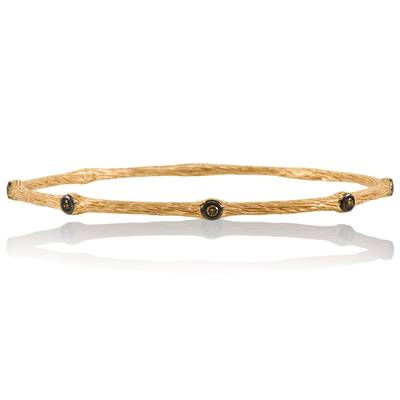 14K Strawberry Gold® Bracelet with Chocolate Diamonds® 1/5 cts. | PZXI 8