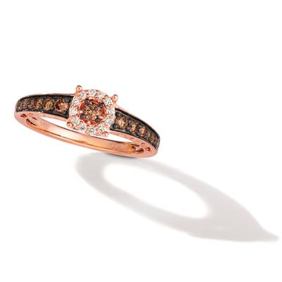 14K Strawberry Gold® Ring | TQCO 1
