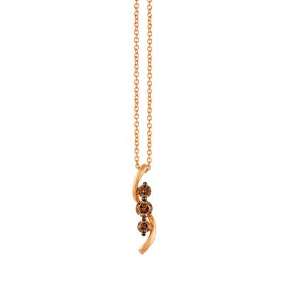 14K Strawberry Gold® Pendant | TQWV 30