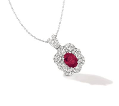 P95 Passion Ruby™ 1  1/4 cts. Pendant | TRII 5