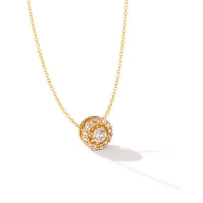 14K Honey Gold™ Pendant with Nude Diamonds™ 1/2 cts. | TRJW 29