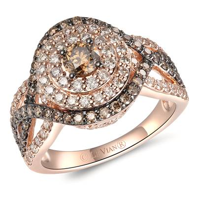 14K Strawberry Gold® Ring | TRPN 57
