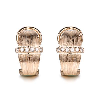 14K Honey Gold™ Earrings with Nude Diamonds™ 1/4 cts. | WAUY 6F