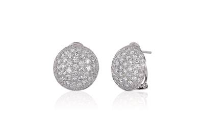 14K Vanilla Gold® Earrings with Vanilla Diamonds® 4  1/2 cts. | WITV 3