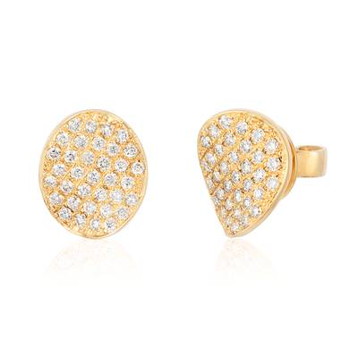14K Honey Gold™ Earrings with Vanilla Diamonds® 3/8 cts. | WIXY 23