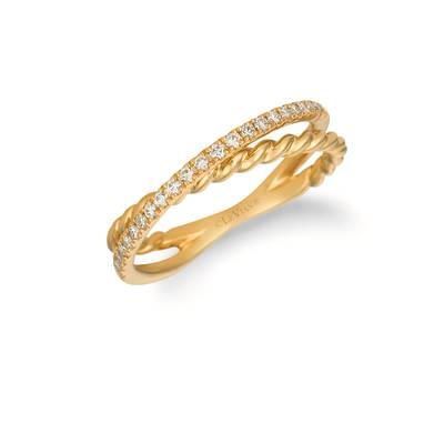 14K Honey Gold™ Ring with Nude Diamonds 1/5 cts. | WIXY 84