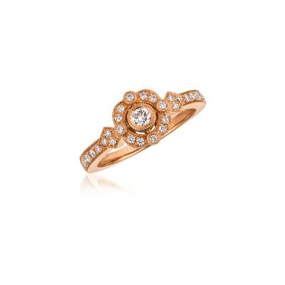 14K Strawberry Gold® Ring | WJCM 7