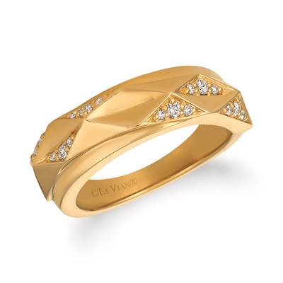 14K Honey Gold™ Ring with Vanilla Diamonds® 1/4 cts. | WJGG 17