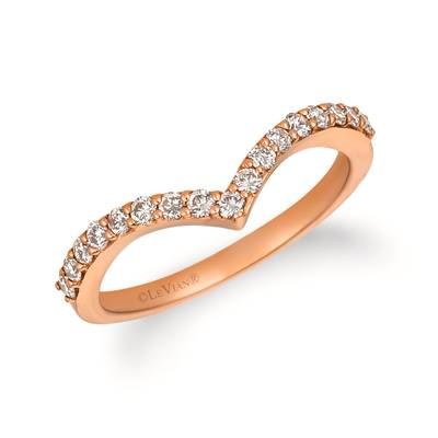 14K Strawberry Gold® Ring with Nude Diamonds™ 3/8 cts. | WJGN 74