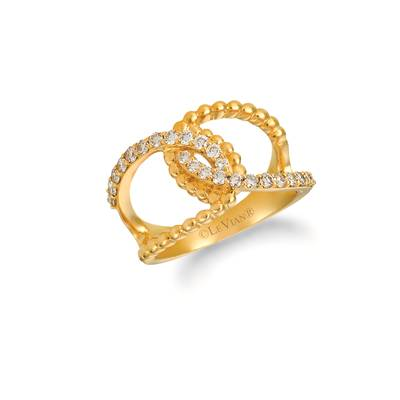 14K Honey Gold™ Ring with Nude Diamonds 1/2 cts. | WJHQ 11-070