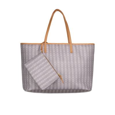 Repeating Logo Nude Tote- Large | XBGAM1027NUD