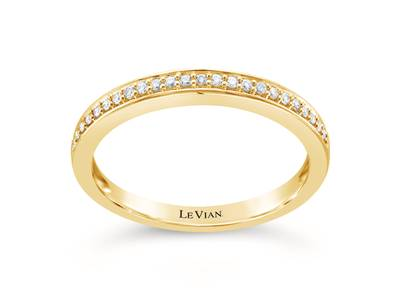 14K Honey Gold™ Ring with Vanilla Diamonds® 1/10 cts. | YQTG 88