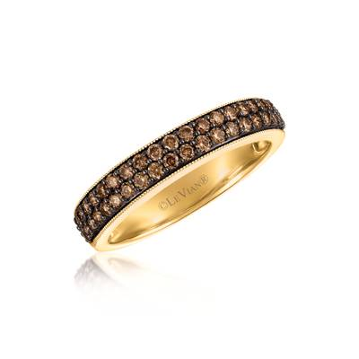 14K Honey Gold™ Ring with Chocolate Diamonds® 1/2 cts. | YQYM 13
