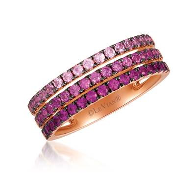 14K Strawberry Gold® Strawberry Ombré® 1 cts. Ring | YRBI 502