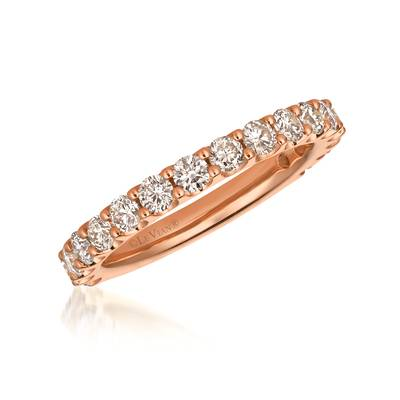 14K Strawberry Gold® Ring with Nude Diamonds™ 1 cts. | YRCI 16