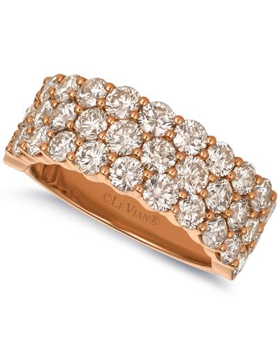 14K Strawberry Gold® Ring with Nude Diamonds™ 3 cts. | YRCI 19