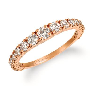 14K Strawberry Gold® Ring with Nude Diamonds™ 7/8 cts. | YRCZ 60-070