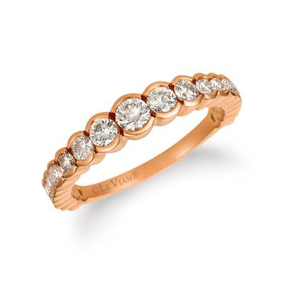 14K Strawberry Gold® Ring with Nude Diamonds™ 7/8 cts. | YRCZ 62-070
