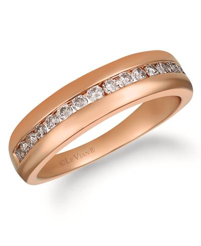 14K Strawberry Gold® Ring with Nude Diamonds™ 1/2 cts. | YRDX 57