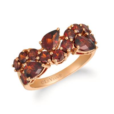 14K Strawberry Gold® Pomegranate Garnet™ 2  7/8 cts. Ring | YREK 23-070