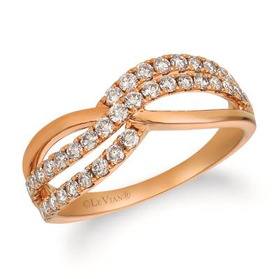14K Strawberry Gold® Ring with Nude Diamonds™ 5/8 cts. | YRET 5-070