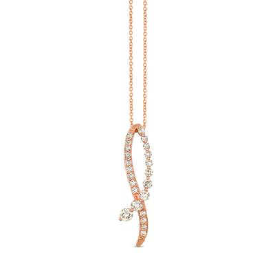 14K Strawberry Gold® Pendant with Nude Diamonds™ 7/8 cts. | YRIN 20