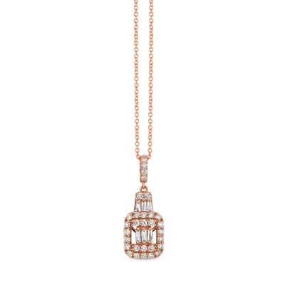 14K Strawberry Gold® Pendant with Nude Diamonds™ 3/8 cts. | YRIT 39