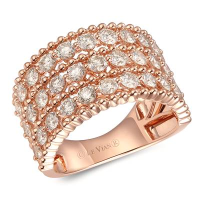 14K Strawberry Gold® Ring with Nude Diamonds™ 2  1/6 cts. | YRKT 39