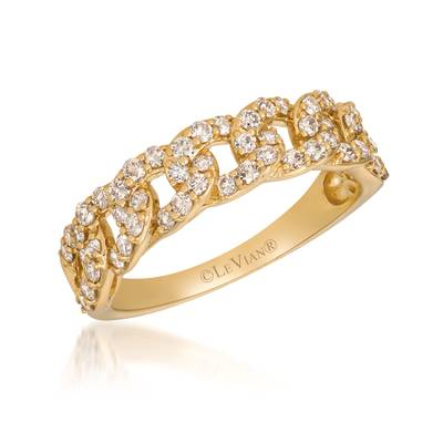 14K Honey Gold™ Ring with Nude Diamonds™ 5/8 cts. | YRKT 4