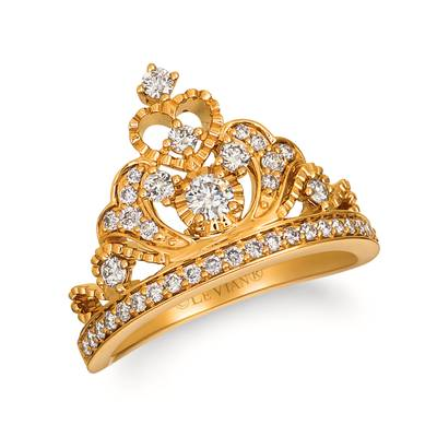 14K Honey Gold™ Ring with Nude Diamonds™ 5/8 cts. | YRLD 25