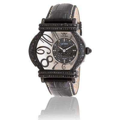 Stainless Steel Watch with Blackberry Diamonds® 1  1/2 cts. | ZAG 120