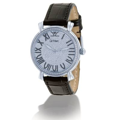 Stainless Steel Watch with Vanilla Diamonds® 2  1/2 cts. | ZAG 122
