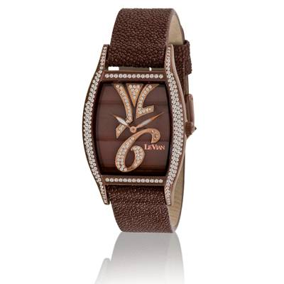 Stainless Steel Watch with Chocolate Diamonds® 1  7/8 cts. | ZAG 135A