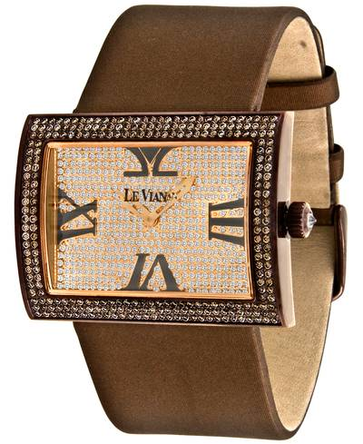 Stainless Steel Watch with Chocolate Diamonds® 4  1/2 cts. | ZAG 139