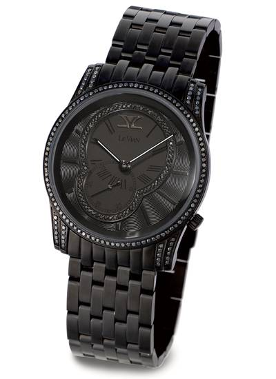 Stainless Steel Watch with Blackberry Diamonds® 1  3/8 cts. | ZAG 208