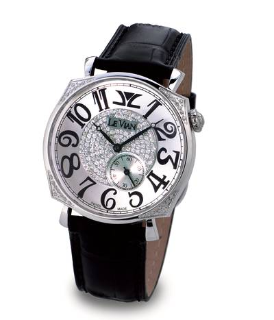 Stainless Steel Watch with Vanilla Diamonds® 7/8 cts. | ZAG 212