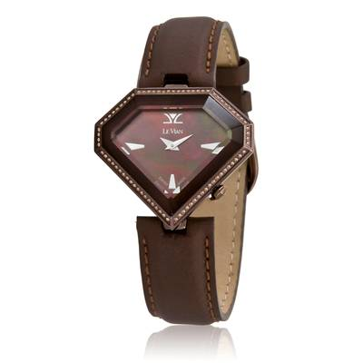 Stainless Steel Watch with Chocolate Diamonds® 1/2 cts. | ZAG 241