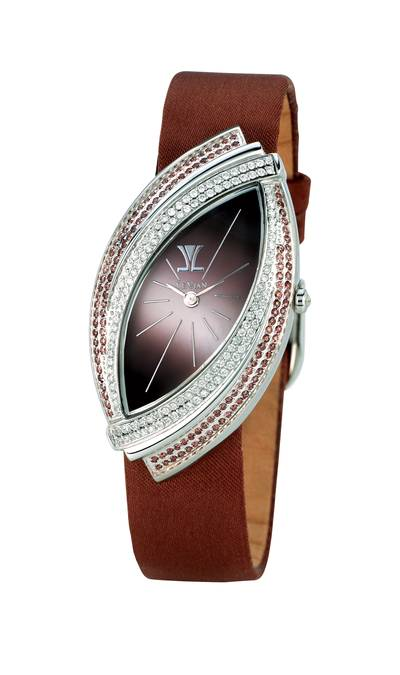 Stainless Steel Watch with Chocolate Diamonds® 1  1/3 cts. | ZAG 95