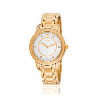 Stainless Steel Watch with Vanilla Diamonds® 1/20 cts. | ZELA 1