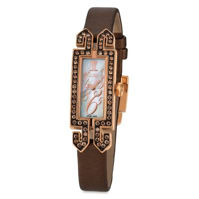 Stainless Steel Watch with Chocolate Diamonds® 7/8 cts. | ZELA 145