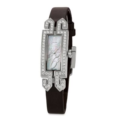 Stainless Steel Watch with Vanilla Diamonds® 7/8 cts. | ZELA 146